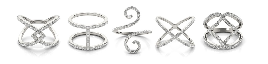 Tesoro Boston Diamond Fashion Rings