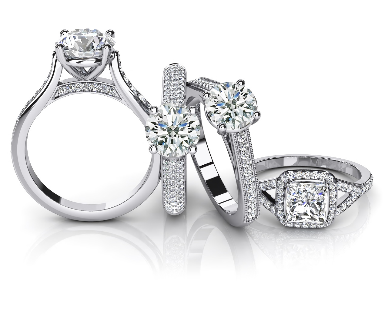 Tesoro Boston Engagement Rings